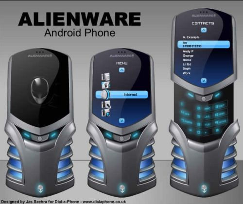 Alienware Android Concept Phone Revealed