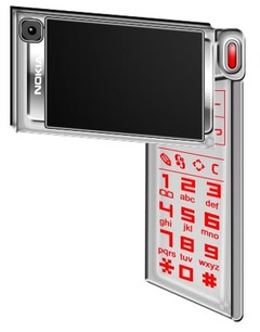 Nokia N96, Beautiful and Strange Concept Phone