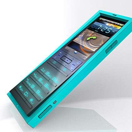 good pictures for phones. Bluemapdesign introduces a pretty good-looking concept phone, named SaY and