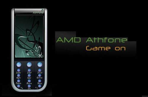 AMD Athfone, Mystery Phone With Cool Graphics