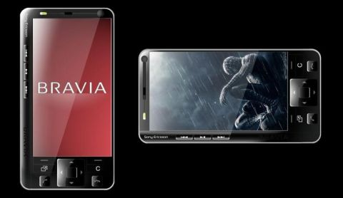 Sony Ericsson K950i Bravia Phone Concept
