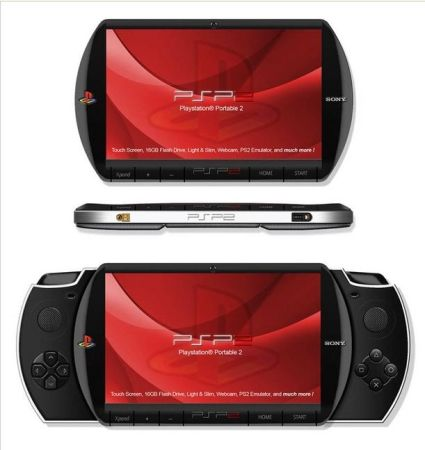 Sony PSP 2 Concept Designs,