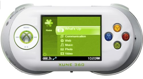 Microsoft Xune, Portable Xbox With a Touch of iPod
