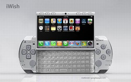 iWish Concept   PSP, Sidekick and iPhone