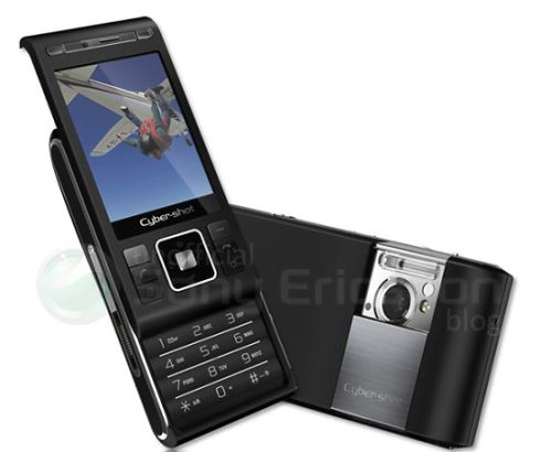 Sony Ericsson C905 Cyber shot Shows Its Face   Shiho Revealed