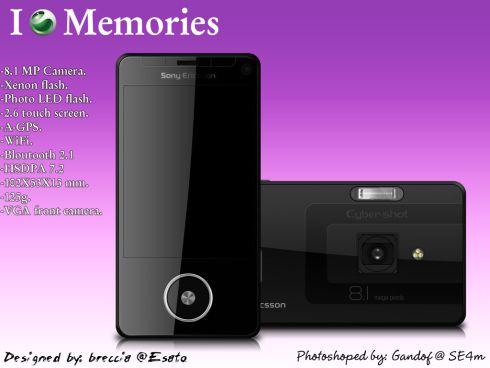 Sony Ericsson C909 Cyber-shotilicious | Concept Phones