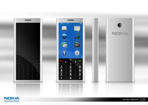 Nokia Touch Phone Concept, a More Serious Approach