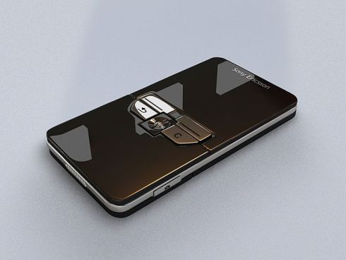 Ultra Slim Sony Ericsson Cybershot Handset Is the Definition of Glossy