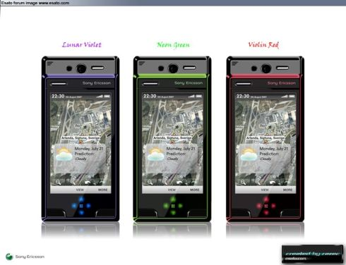 Sony Ericsson P905 Is All About the Interface and Looks