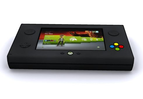Xbox Portable Wonderful Console Concept By Chris Hair