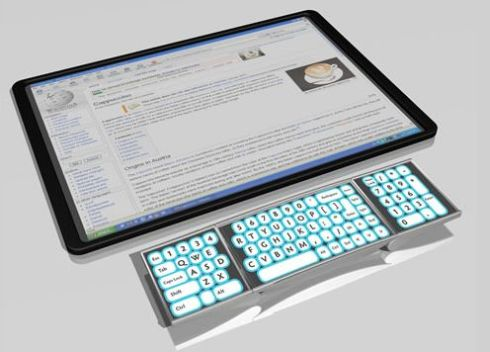 MiLife Concept Phone is a Video Tablet, Projector, PC Keyboard