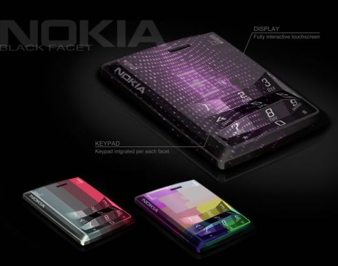 Nokia Concept Phones by Kort Neumann Feature Touchscreen AND Touch Keys