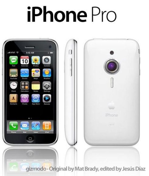 iPhone Elite and iPhone Pro Fan Mockups Could Make Steve Jobs Go Yes We Can!
