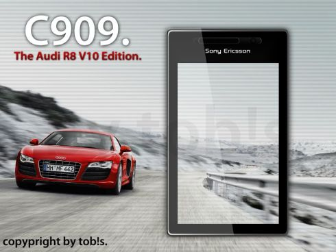 Sony Ericsson C909 Audi R8 V10 Edition Design is Cyber shot at Its Very Best
