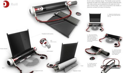 Wish They Were Phones (WTWP) Episode II: D roll Laptop Concept