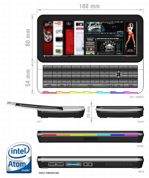 Intel Atom-Based MID Concept Rocks Our Day!