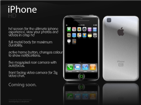 iPhone Graphite, iPhone HD and a New iPhone Nano Concept Ease the Waiting for the New Handset