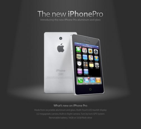 iPhone Pro Concept Is Made Out of Recyclable Materials, Upgrades Current Features