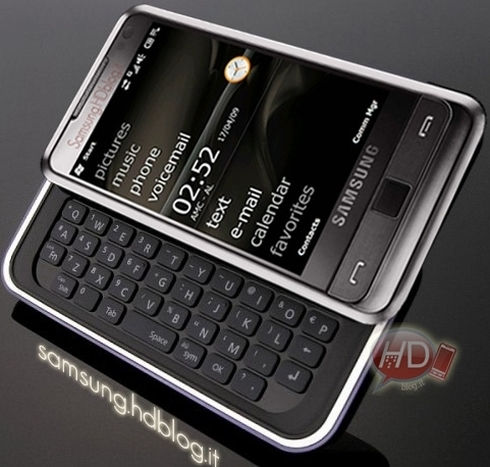 Samsung Omnia Pro to Pack QWERTY Keyboard, Hit the Market in July