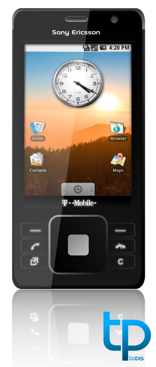 Sony Ericsson CS8, Designed by tob!s