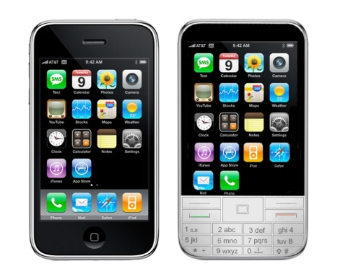 Apple iPhone iSmart, New Design, New Keypad