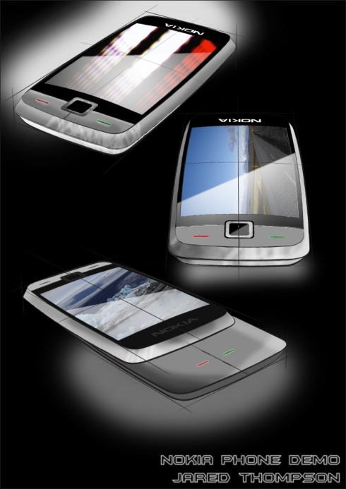 Nokia N Series Concept, Designed by Jared Thompson | Concept Phones