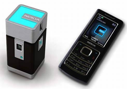 Nokia Pocket Projector phones concept Review