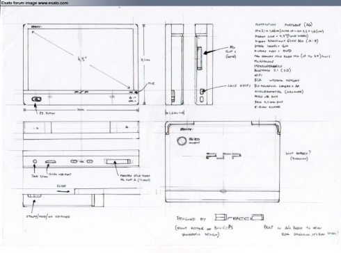 PlayStation Portable 2, Sketch Version of the PSP Go!?