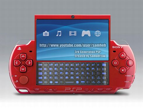 PSP Go Leaked! Real PSP 2 Versus the Best Concepts and Designs