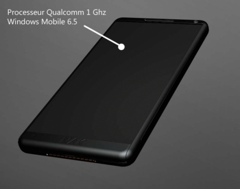 NAK Pure Black Concept Phone, Black is Back!