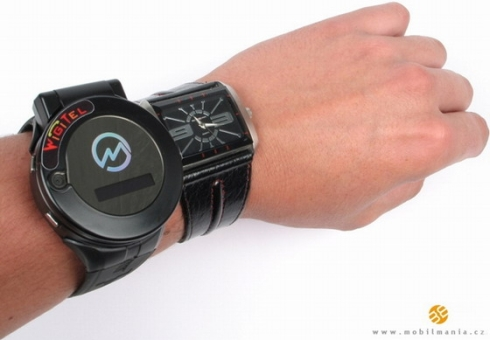 WigiTel W3, a Strange Watch Phone With 2 Screens