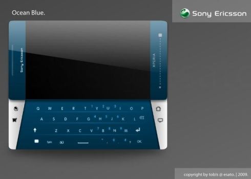 XPERIA X5 Nadine Concept, a tob!s Wonderful Design