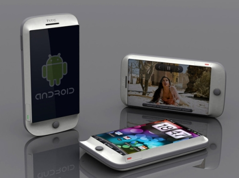 HTC Discover Concept, an Android Phone With a 10 Megapixel Camera