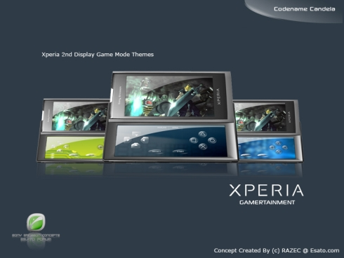Sony Ericsson XPERIA Candela Finalized Design, Razecs Concept is Amazing