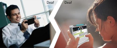 DeafCommunicator Helps Deaf Users Communicate