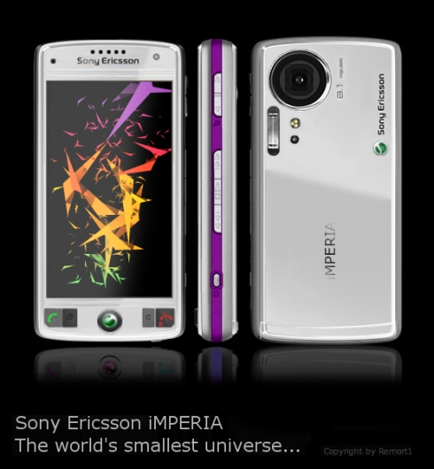 Sony Ericsson iMPERIA is a Touchscreen Multimedia Phone