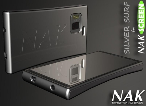 NAK Screen Concept Phone Supports Unique Design Customization