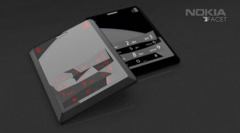Nokia Facet Concept Comes With a Touchscreen and Tactile Keypad