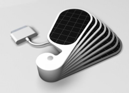 iPetals Solar Charger Will Juice up Your iPhone; a Mac Funamizu Design