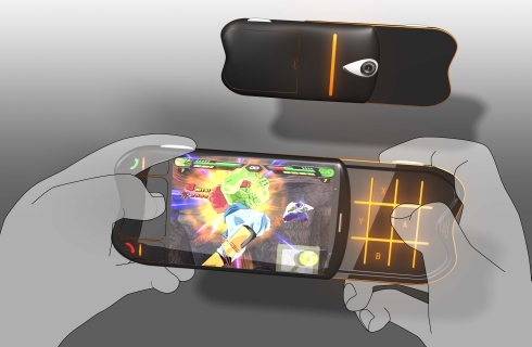 Gaming Phone Concept, by Thomas Broadbent