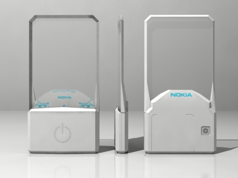 Transparent Nokia Phone Features a Touchscreen, Looks Great