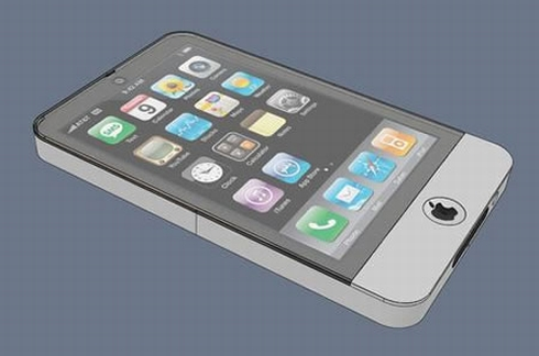 iPhone 4G Design, Created by Guillaume Moshi Guyader
