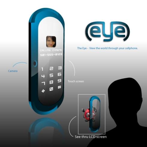 The Eye Concept Phone Packs a See Through LCD Screen