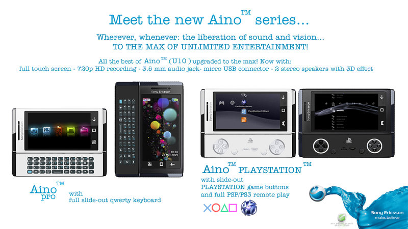 Sony Ericsson Aino Playstation, the Return of the PSP Phone