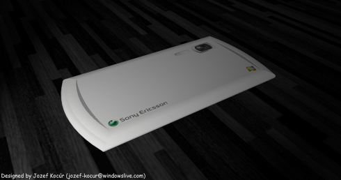 Sony Ericsson Yanq 4G, Fresh Design by Jozef Kocur