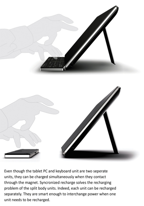 Smartbook Tablet Concept, Some Sort of iPad, But With More Features