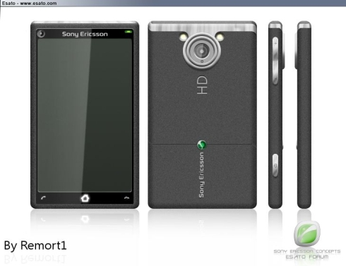 Sony Ericsson Auron Features a 10 Megapixel Camera With HD Video Capture