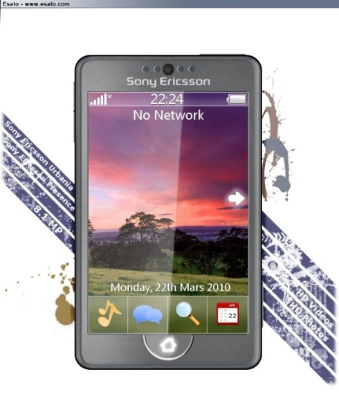 Sony Ericsson Urbania Design Relies on the SE Presence UI