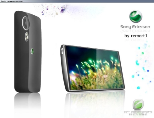 New Sony Ericsson Smartphone Design by Remort1 Redefines Sleekness