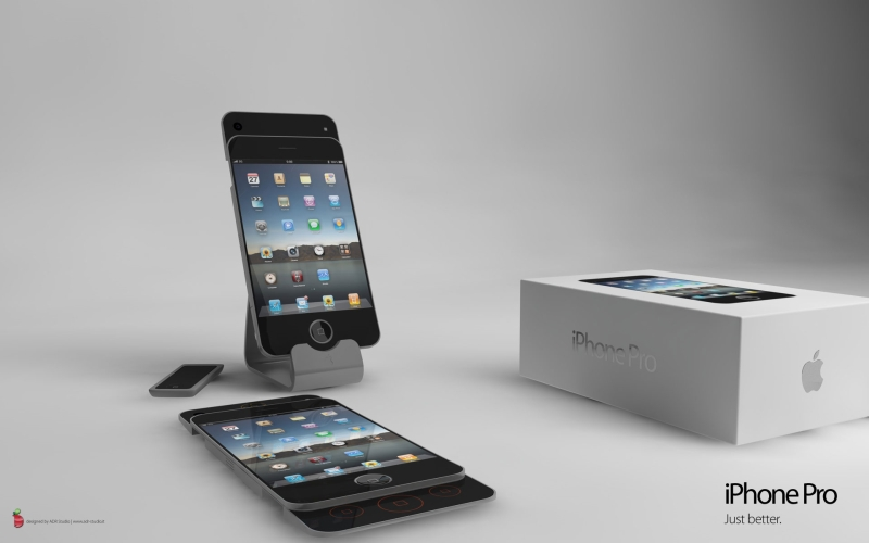 iPhone Pro Concept, Possibly the Best iPhone 4G Design Ever